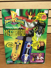 "1994 Marchon Power Rangers REMOTE CONTROLLED 14"" MEGAZORD ** Factory Sealed"