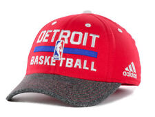 New Adidas Detroit Pistons NBA Kids Youth Junior Flex Practice Fitted Cap Hat
