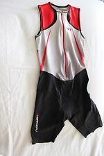 New Louis Garneau Women Tri Elite Course Cycling Triathlon Suit Medium NWT $250