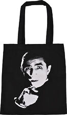 BELA LUGOSI BLACK COTTON TOTE BAG VAMPIRE CULT DRACULA VINTAGE HORROR B-MOVIE