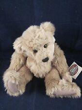 """GANZ Cottage Collectibles Teddy Bear CLANCY 13"""" SIGNED 1998 Sue Coe NEW with TAG"""