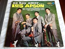 LOS APSON No Hay Amor... LP ECO Records Mexican 70's ROCK Vinyl RARO OOP! GARAGE