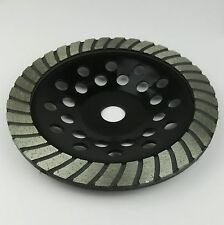 180mm PRO Diamond Cup Grinding Disc. Angle Grinder Blade. Concrete. Granite. 7""