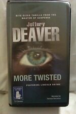 More Twisted by Jeffrey Deaver: Unabridged Cassette Audiobook (HH4)