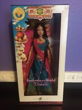 Festivals of the World Diwali Barbie Collection 2006 Pink Label New in Box