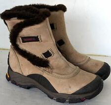 Women's Merrell Thermo Arc Ice Boots Waterproof Insulated Boots Tan Size 7 NWOB