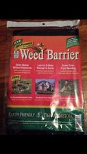 Weed Barrier Blocker All Purpose 4x8 Black Garden Fabric Easy Gardener Free S&H