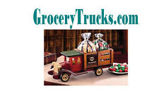 Grocery Trucks .com  Van Shelves Load Space Domain Name Website e Commerce Truck