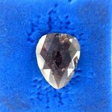 3.22TCW Red Brown Color rose Cut Pear Shape Natural Loose Diamonds for Ring