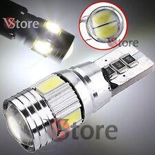 2 LED T10 6 SMD Lampade HID Canbus 5630 BIANCO Luci No Errore Xenon Posizione