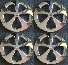 "NEW 2012-2015 Toyota PRIUS 15"" 5-spoke  CHROME Hubcap Wheelcover SET"