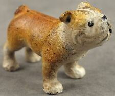 ENGLISH BULLDOG Cast Iron MINIATURE STATUE PAPERWEIGHT