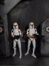 STAR WARS LOOSE THE CLONE WARS LOT OF (2) 212TH BATTALION CLONE TROOPERS
