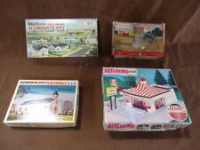 Misc Boxed Model Railroad Buildings Lot - Possibly Incomplete / For Projects