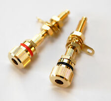 Jantzen Binding Posts / Speaker Terminals M6/27 Gold, 1 pair