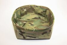 MULTICAM COLLAPSIBLE FOLDING DOG K9 BOWL DISH MILITARY LEO 100% USA MADE