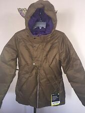 NEW WMNs BURTON DANDRIDGE DOWN BRUNETTE SNOWBOARD SKI JACKET SZ M (10K mm/10K g)