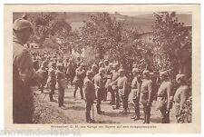 Foto Ak - König von Bayern in den Vogesen - um 1915