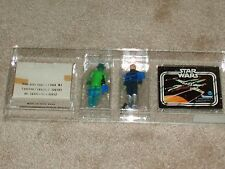 Vintage Star Wars 1979 AFA 80 RARE BLUE SNAGGLETOOTH GREEDO SEARS CATALOG MAILER