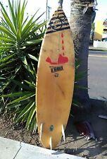 Vintage 1980s OP Al Merrick  shortboard  Surfboard Santa Barbara Shaper