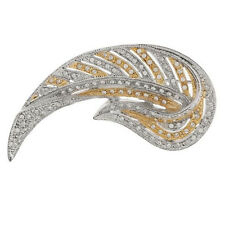 JACQUELINE KENNEDY REPRODUCTION WINGED VICTORY BROOCH TWO TONE QVC