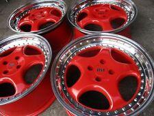 "❤️❤️4x 17"" RH CUP Wheels 4x100 BMW E30 Vw Golf Passat GTI AUDI VOLKSWAGEN RH ZW1"