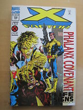 X-FACTOR 100. DOUBLE SIZE 100th ISSUE. METALIC FOIL ENHANCED COVER. MARVEL. 1994