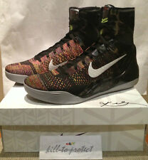 NIKE KOBE 9 IX ELITE MASTERPIECE Sz US10 UK9 Rare 630847-001 MVP PRELUDE 2014