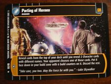Star Wars TCG ESB Parting of Heroes