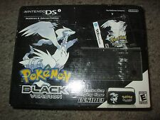 Nintendo DSi Pokemon Version Black Handheld System Console NEW Bundle