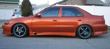 1998 99 0 2001 01 02 TOYOTA COROLLA ORIGINAL GTEC STYLE SIDE SKIRTS LIP BODY KIT