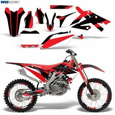 Decals Graphic Kit Honda 250/450R Dirt Bike Stickers CRF250 10-13 CRF450 09-12 M