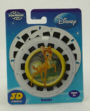 VIEW-MASTER ~ DISNEY'S BAMBI ~ 3 3D Reels ~ 2008 N3990 Fisher-Price ~ NEW