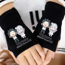 Anime Re: Life in a different world from zero Cotton Gloves Fingerless Mittens
