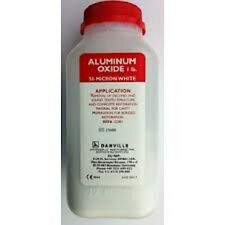 DANVILLE ALUMINUM OXIDE MEDICAL GRADE ALPHA 1 POUND JAR WHITE FOR MICROETCHER
