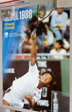 Seoul 1988 Official Olympic Tennis Poster (not Sochi 2014)