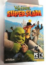 Shrek Superslam Pc Cd-rom Comedia luchando Dreamworks Juego Nuevo Y Sellado!