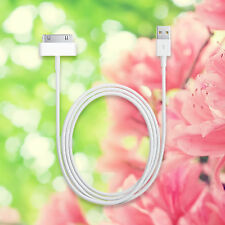 USB Sync Data Charging Charger Cable for Apple iPod Classic iPod Mini White 3'