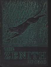High Point College North Carolina 1940 Zenith Yearbook Annual University NC