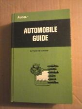 Audel Automobile Guide by Frederick E. Bricker 1972 Hardcover Good Condition
