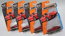 '14 PORSCHE CAYMAN * LOT OF 4 * 2016 MATCHBOX * RED