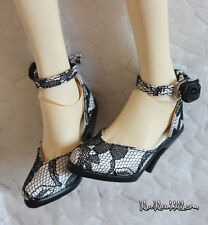 1/3 bjd SD13/16 EID girl doll lace high-heel shoes dollfie dream S-100 ship US