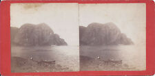 1870s? VALLEE STEREOVIEW QUEBEC CANADA CAPE TRINITY