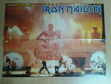 Iron Maiden - Poster - Monsters of Rock 1988 (Seventh Son Tour)