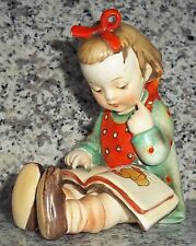 "Hummel Figur Hum 8 ""Der Bücherwurm * Book Worm"" FM 1 * Kronenmarke * Crown Mark"