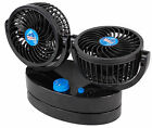 cyclone 2 oscillating fan compact and quiet 12v ideal motorhome camper caravan