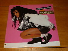 DONNA SUMMER - Cats Without Claws - 1984 German 10-track LP