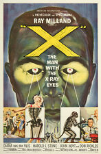 The X Man With The X-Ray Eyes 1963 Original Movie Poster Horror Science Fiction