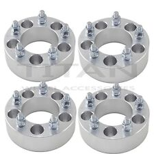 "(4) 50mm Wheel Spacers Dodge 5x5.5 Fits Ram 1500 Durango Dakota 9/16"" Studs 2"""