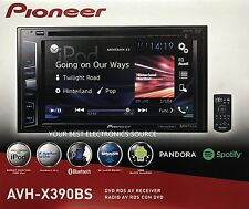 "NEW Pioneer AVH-X390BS 2-DIN Bluetooth DVD/CD/AM/FM Car Stereo 6.2"" Display"